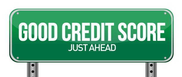 good-credit-score-road-sign